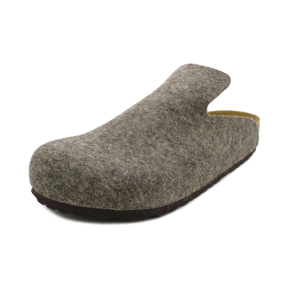 サンダル ビルケンシュトック BIRKENSTOCK ダボスウールフェルト カカオ 幅広 メンズ レディース シューズ 靴 18FW