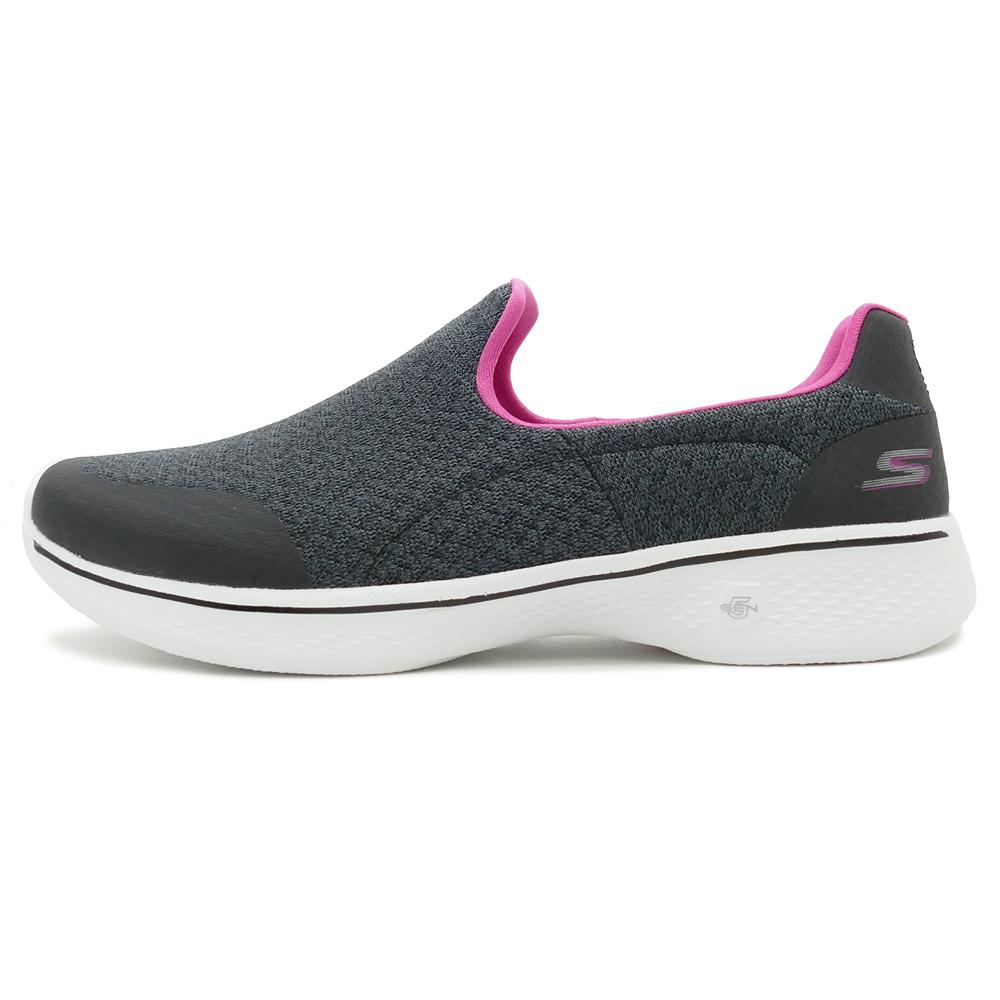 SKECHERS WMNS GO WALK 4 black/hot pink (black / hot pink) 14937-BKHP 18SS