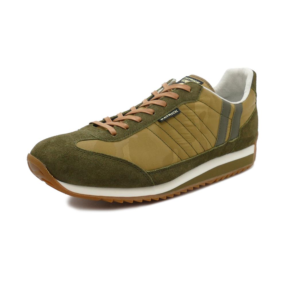 スニーカー パトリック PATRICK マラソンカモジャカード カーキ メンズ レディース シューズ 靴 18FW