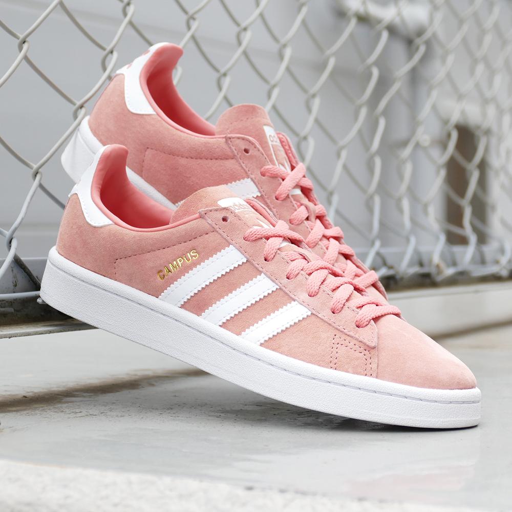 a849e327138 adidas Originals CAMPUS W tactile rose ftwr white crystal white (tactile  Rose   running white   crystal white) B41939 18FW