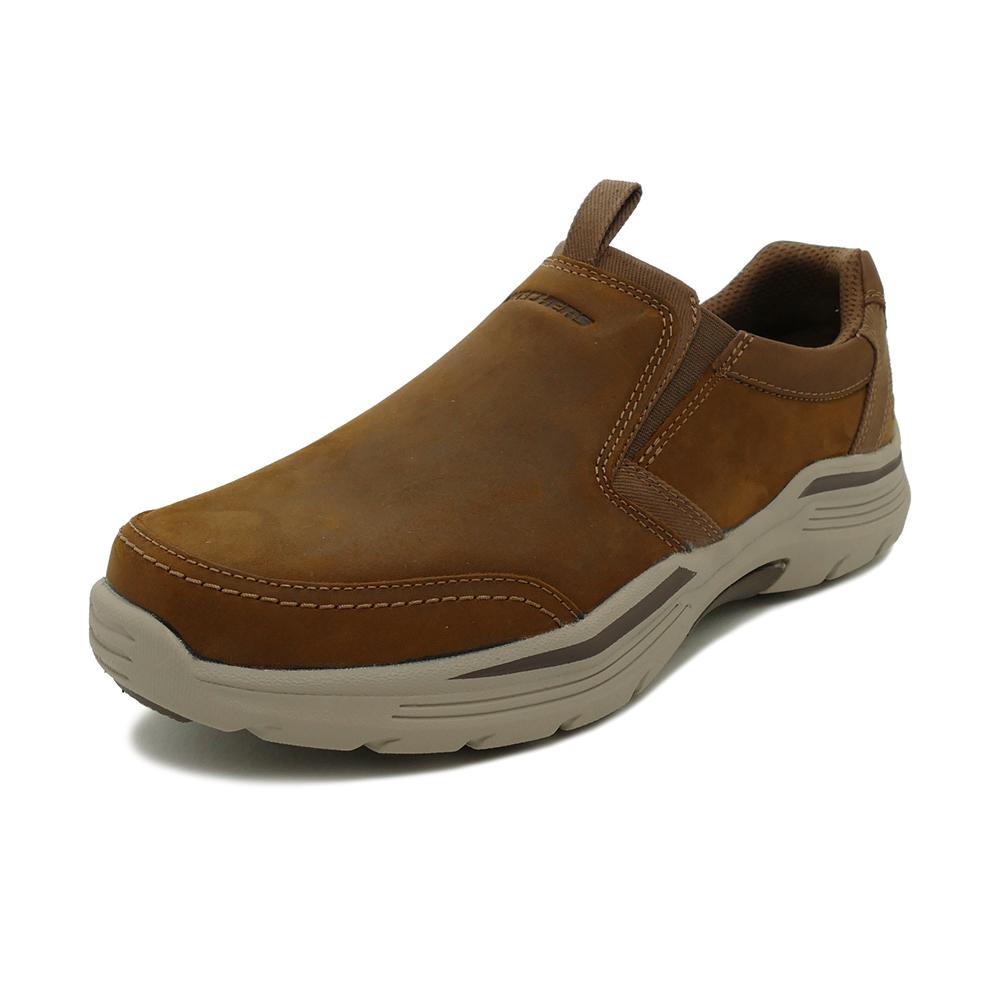 スニーカー スケッチャーズ SKECHERS エクスペンデッド ダークブラウン メンズ シューズ 靴 19FW