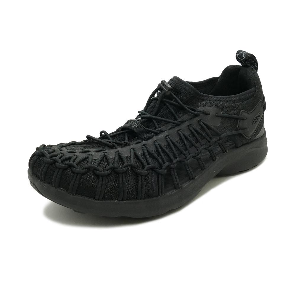 サンダル キーン KEEN ユニークスニーク ブラック/ブラック 1022377 メンズ シューズ 靴 20SS