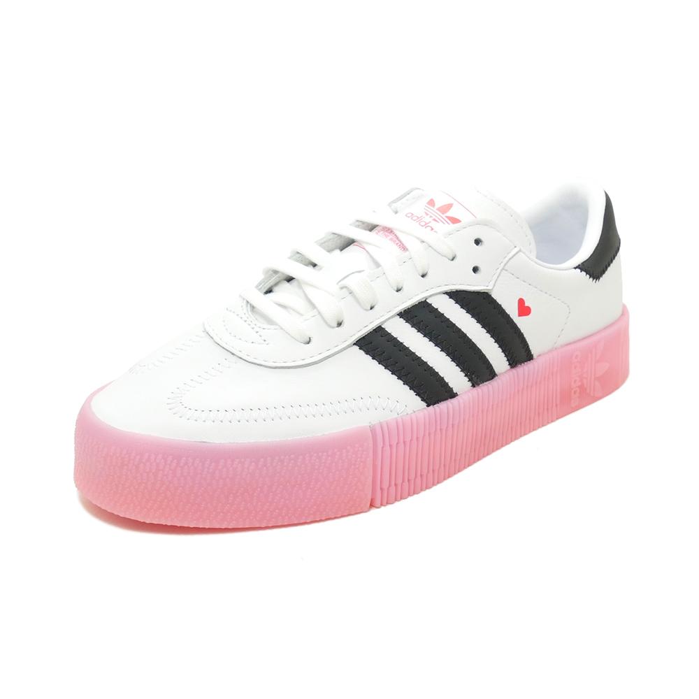 スニーカー アディダス adidas サンバローズW フットウェアホワイト/コアブラック/グローリーピンク EF4965 レディース シューズ 靴 20Q1