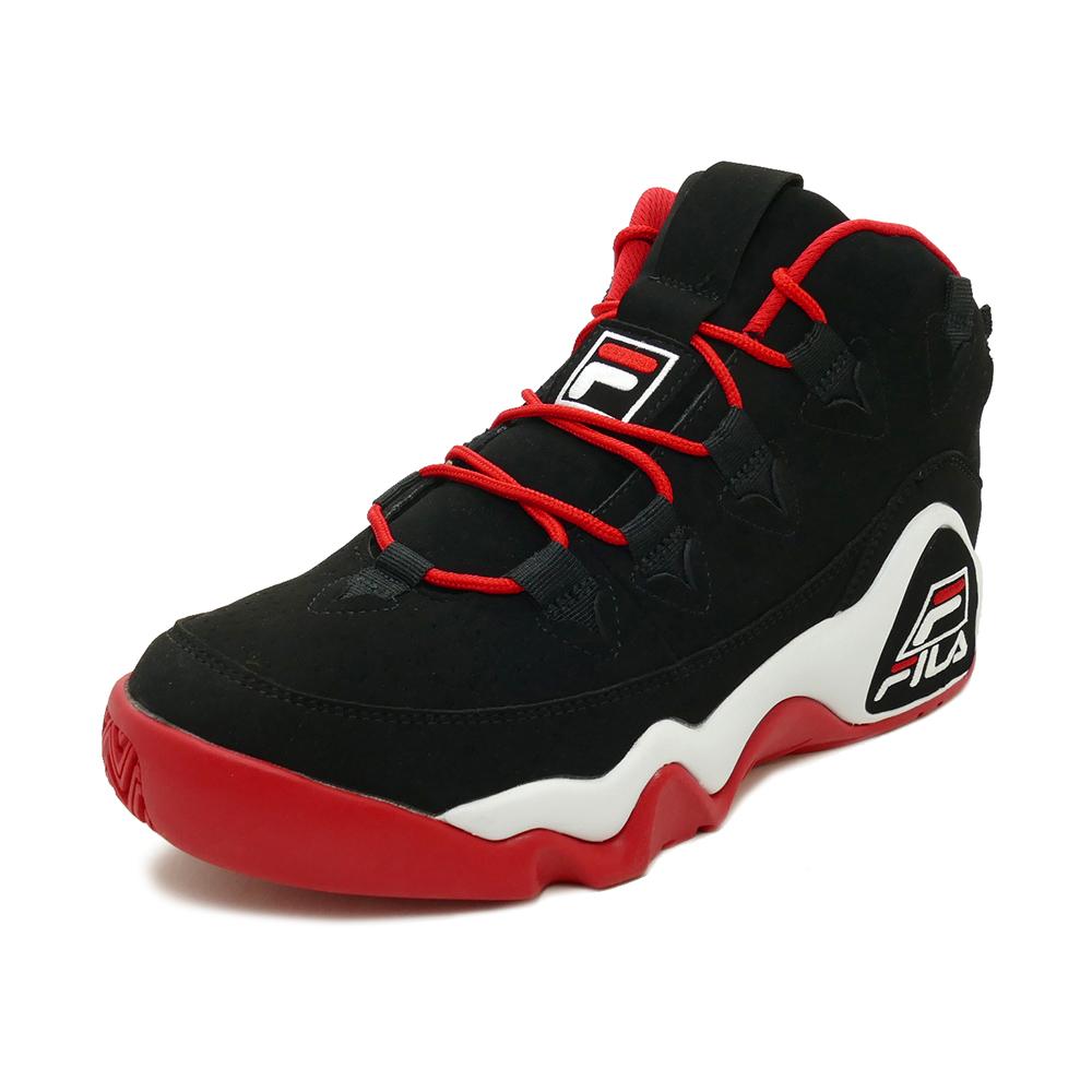 スニーカー フィラ FILA グラントヒル ブラック/Fレッド/ホワイト メンズ シューズ 靴