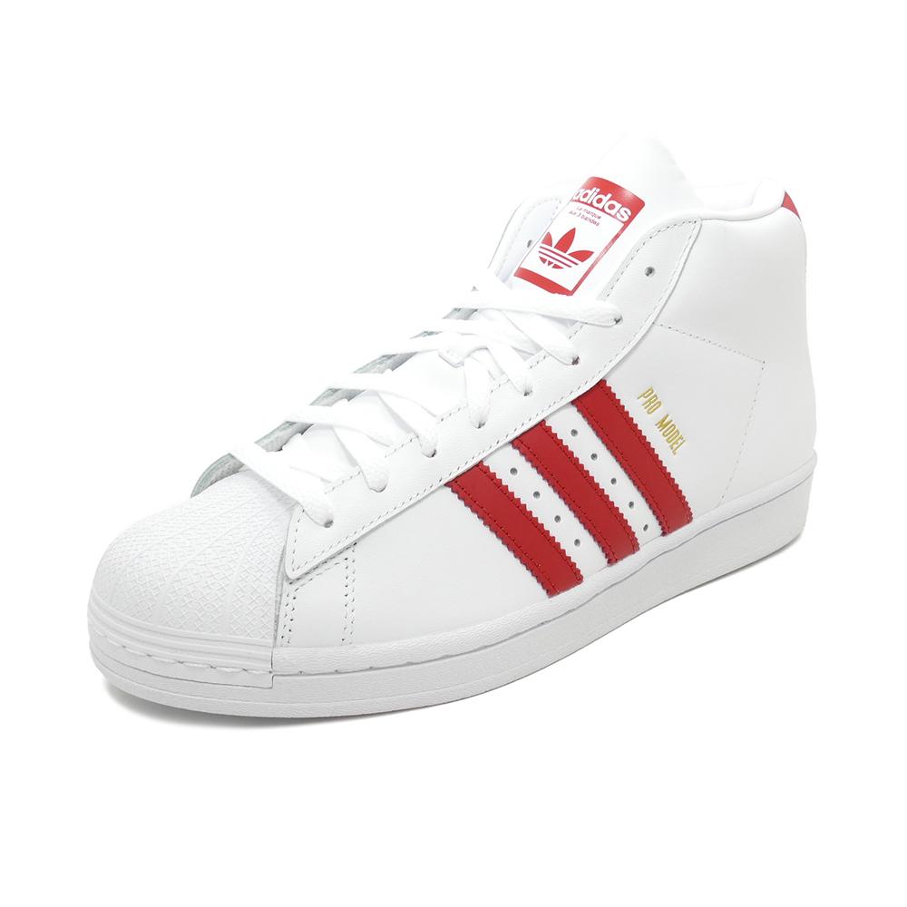 スニーカー アディダス adidas プロモデル フットウェアホワイト/スカーレット/フットウェアホワイト FV4493 メンズ レディース シューズ 靴 20Q1