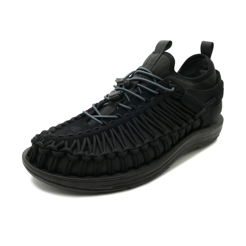 スニーカー キーン KEEN ユニーク エイチティー ブラック/ブラック 1018025 メンズ シューズ 靴