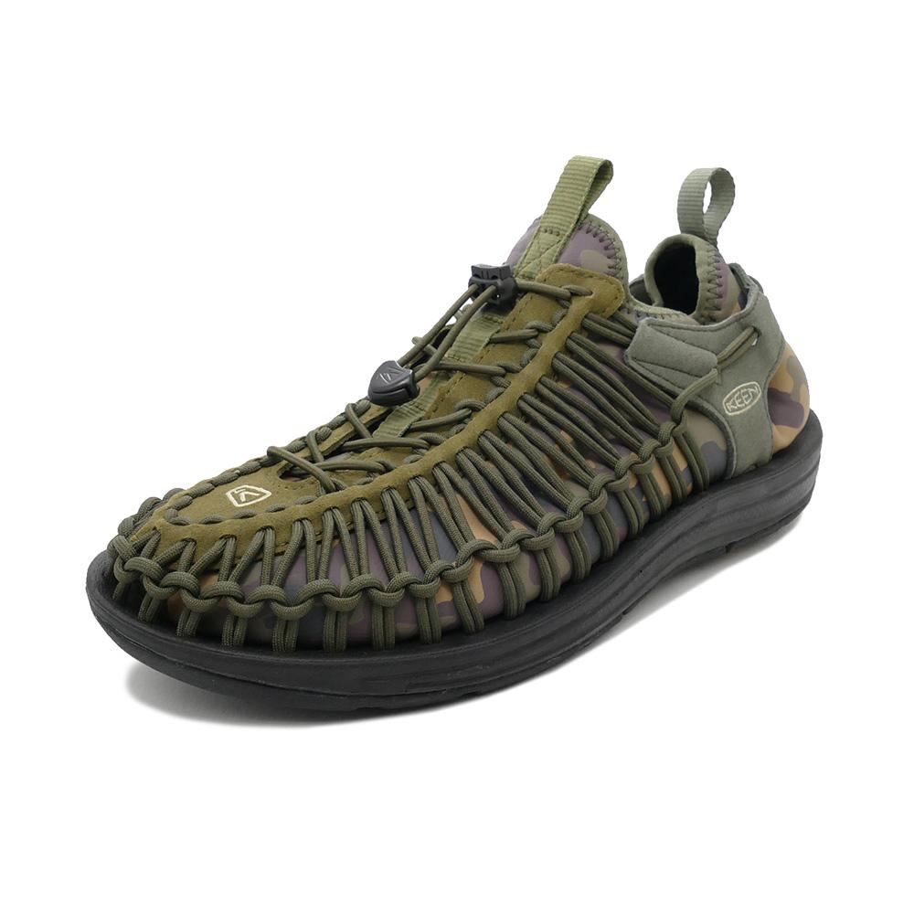 スニーカー キーン KEEN ユニーク エイチティー オリーブ/カモ 1019953 メンズ シューズ 靴