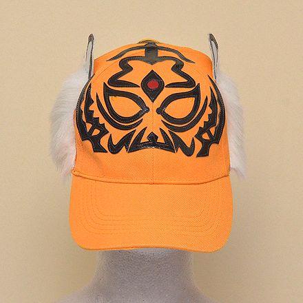 Wrestling mask Cap (orange): Tiger Mask (2)