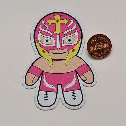 直輸入 メキシコ雑貨 送料無料 プロレスマスクのマグネット:レイミステリオ 1 安い 激安 プチプラ 高品質 通販