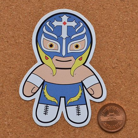 Wrestling dolls sticker: Rey Mysterio (8)