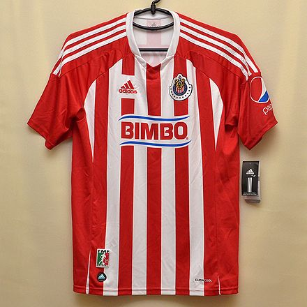 チバス(Chivas)グアダラハラ(1)◎メキシコクラブチーム サッカーユニフォーム