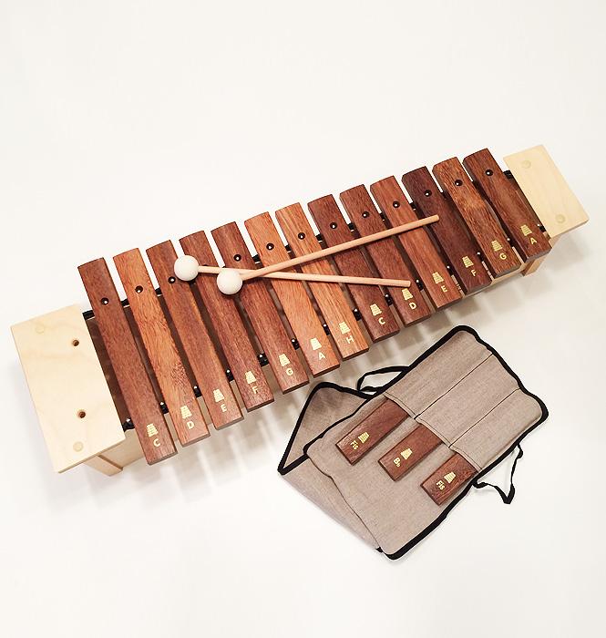 【今だけ50%OFF!】木琴 子ども用 おもちゃ ドイツ老舗メーカーの本格派 goldon プロアルトサイロフォン ゴールドン 知育楽器