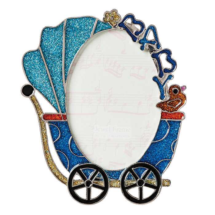 mfl | Rakuten Global Market: Jewel photo frame buggy blue