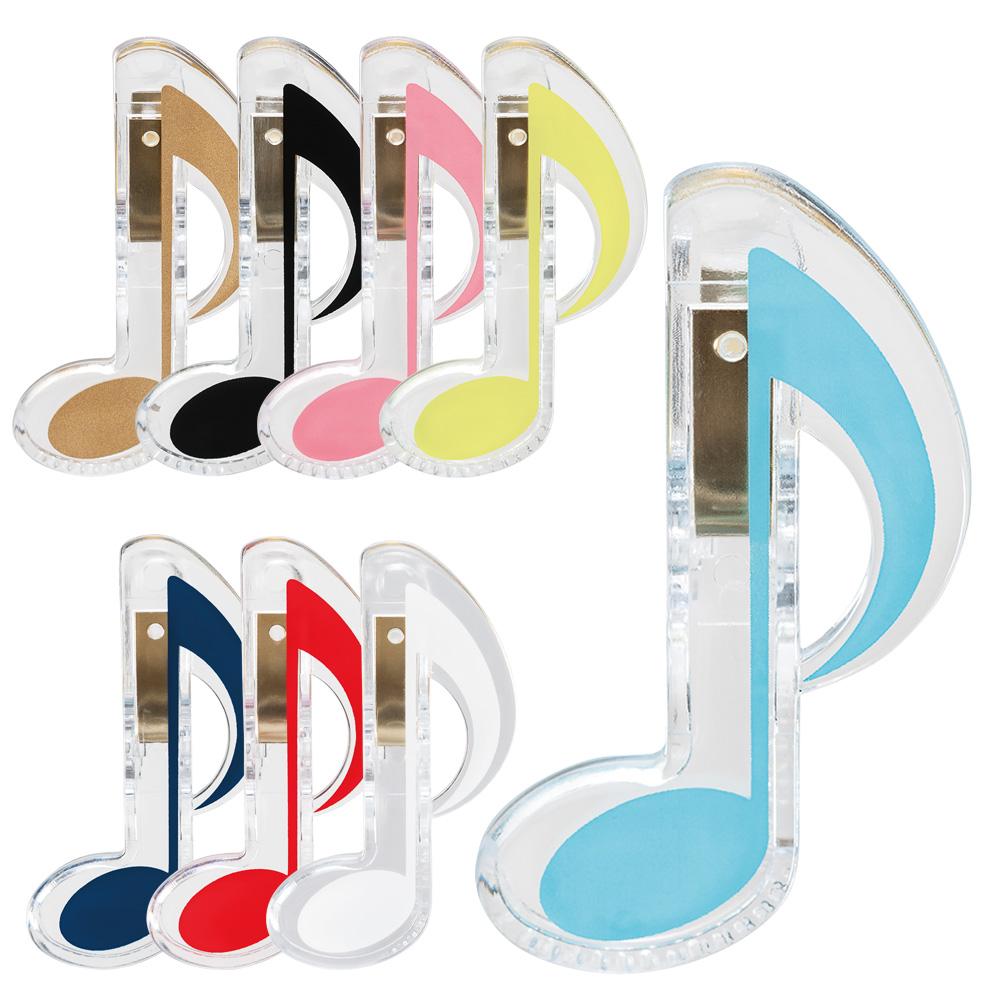 日本製 いよいよ人気ブランド 発表会 演奏会の記念品に 格安SALEスタート クリップ 8分音符 音楽 記念品 音符 楽譜 8分音符記号クリップ ミュージッククリップ