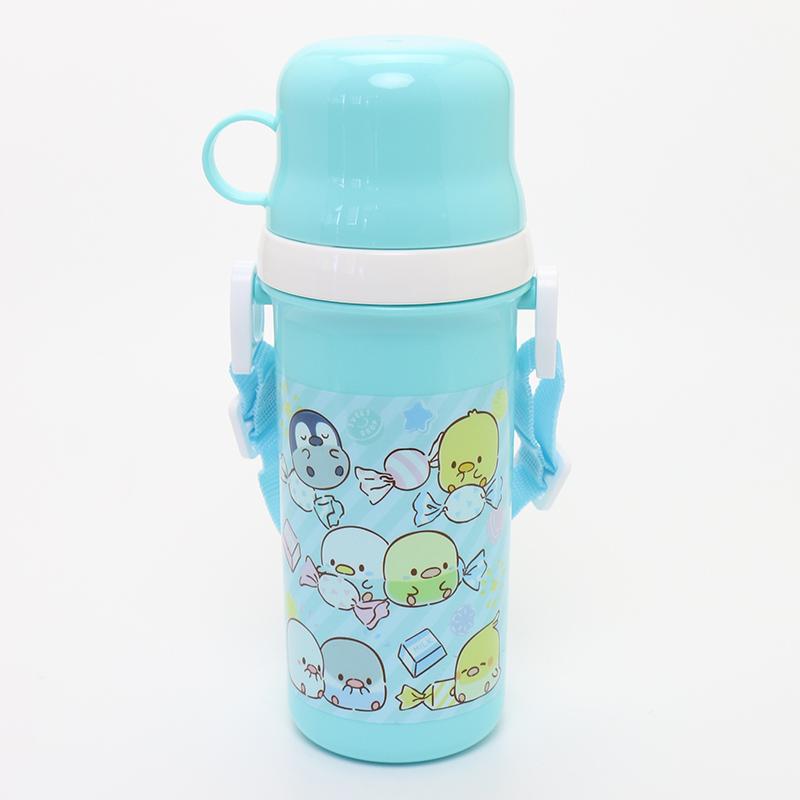 こぴよフレンズ コップ付きプラ水筒