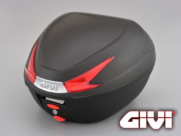 ★送料無料★GIVI 33Ltype B330ND(ストップランプ無し)汎用ベース付きのモノロックケース!未塗装ブラック デイトナ/ジビ