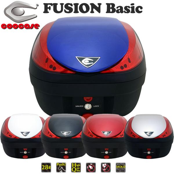 クーケース V28 FUSION Basic (フュージョン ベーシック) テールボックス 28L ペイントモデル