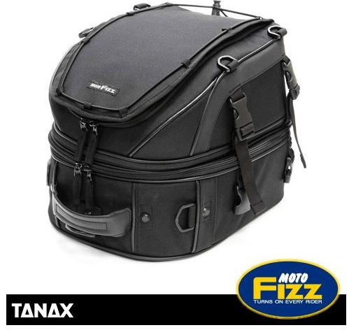 TANAX タナックス MFK-139 Wデッキシートバッグ<ブラック>