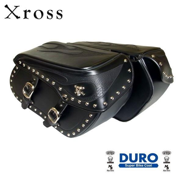 ★送料無料★Xross(クロス) ラージダブル サイドバッグ LARGE DOUBLE BSF-101-1S