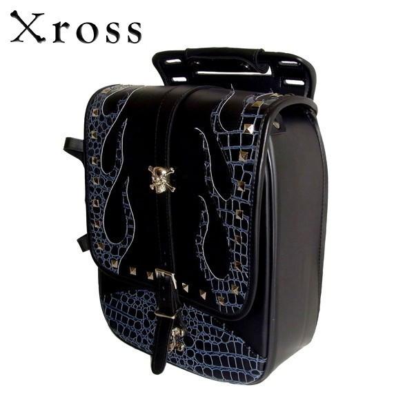 ★送料無料★Xross(クロス) シングル サイドバッグ SADDLE SINGLE TFF-203-3S