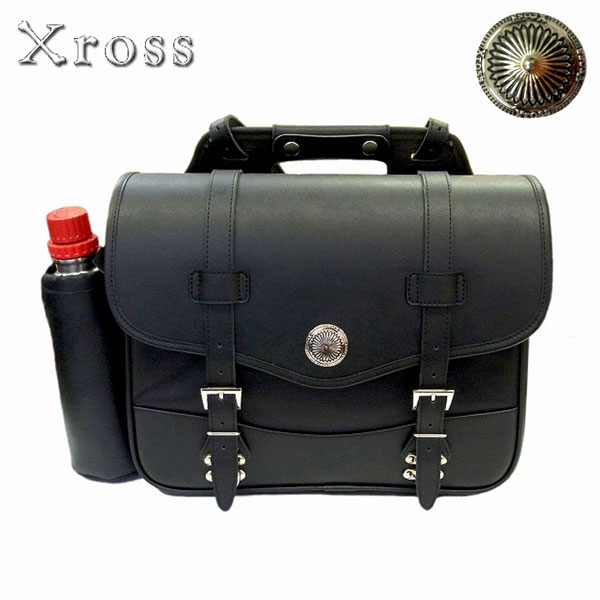 Xross(クロス) SADDLE SINGLE サドルバッグ サイドバッグ XC-012W 容量可変タイプ