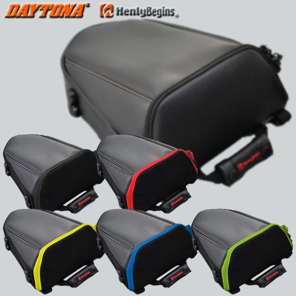 豊富な品 スーパースポーツやストリートファイター系にマッチするサイズとデザイン DAYTONA HenlyBegins HBシートバック 全6色 期間限定特価品 DH-708