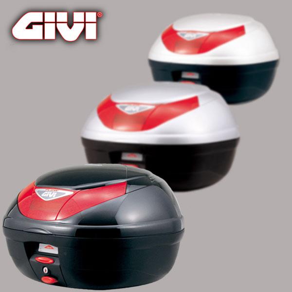 ★送料無料★GIVI/DAYTONA E350FLOW 68041/68042/68043テールボックス 35L 3COLOR※汎用ベース付属 ストップランプなし