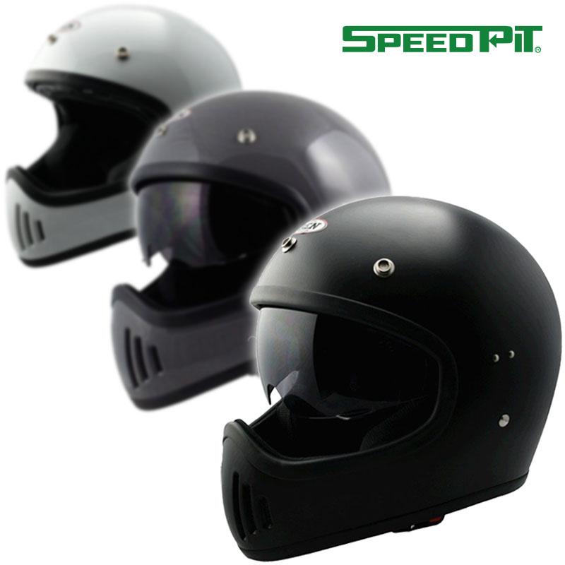★送料無料★スピードピット ヴィンテージ フルフェイスヘルメット B-80