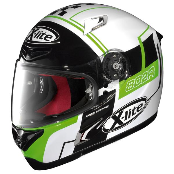 ★送料無料★ X-LITE X-802R ラッシュ ホワイト エックスライト フルフェイスヘルメット 日本規格適合/日本正規代理店品