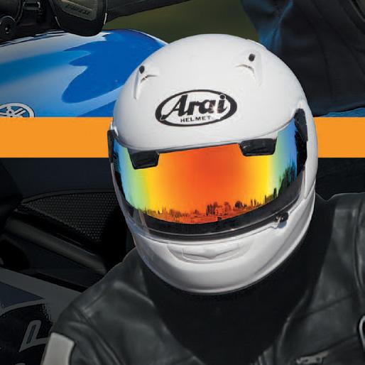 ARAI Pro Shade Silver Mirror
