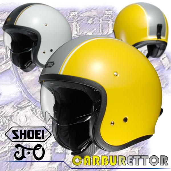 ★送料無料★SHOEI/ショウエイ J・O CARBURETTOR(ジェイ・オー/キャブレター)スモールジェットヘルメット