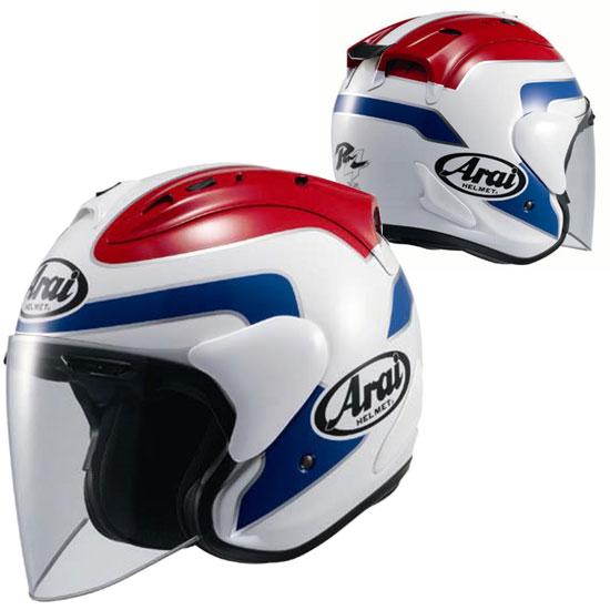★送料無料★Arai SZ-Ram4 SPENCER (スペンサー) トリコロール スポーツするオープンフェイス ジェットヘルメット