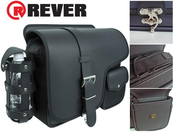 ★送料無料★REVER アメリカン サイドバッグ MNB-1001 サドルバッグ