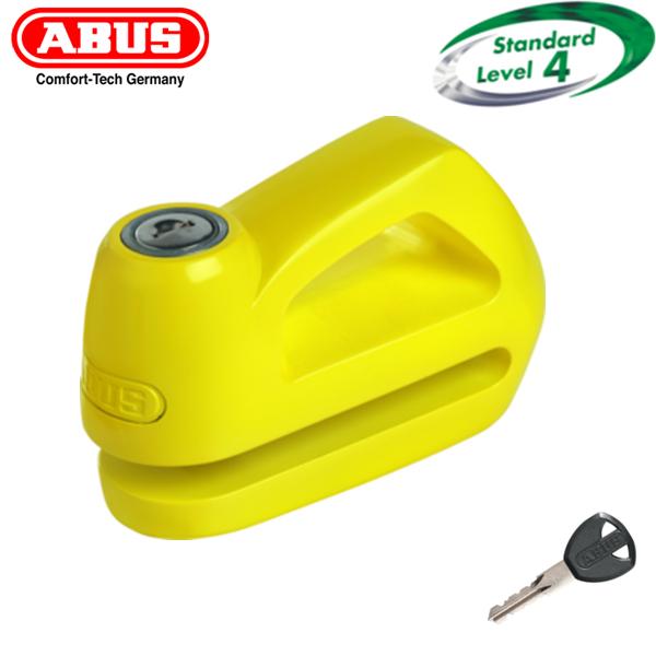 YELLOW Abus Element 285 Disc Lock