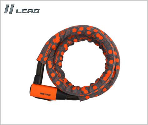 LEAD リード工業 おすすめ BEELOCK LW-018 余裕ある1800mmのリンクロック 1800 安心ロック mm 22Φ 爆安プライス セキュリティ