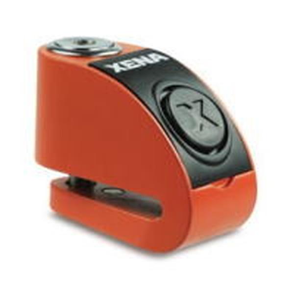送料無料 XENA XZZ6L-HD Li ゼナ ディスクアラーム アラーム付きディスクロック 直輸入品激安  いよいよ人気ブランド オレンジ Q5K-AAA-001-230 876846002641