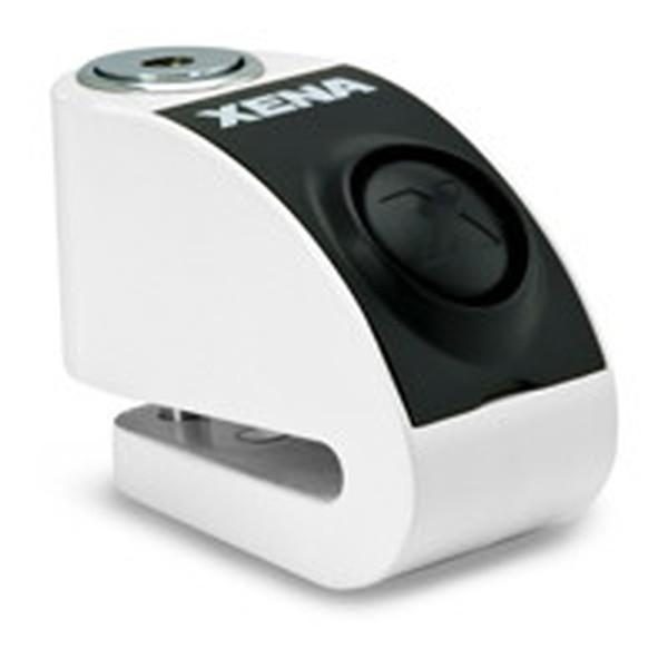 XENA XZZ6L-WH Li ゼナ ディスクアラーム(ホワイト) アラーム付きディスクロック 876846003402 Q5K-AAA-001-242