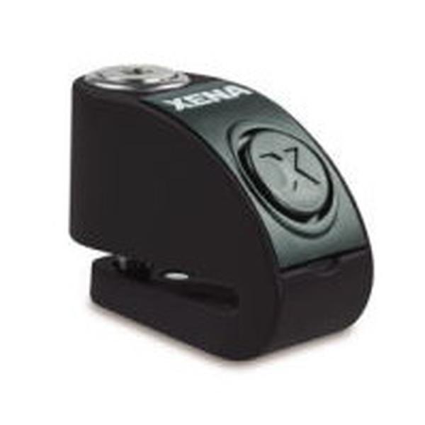 送料無料 XENA XZZ6L-BK BLE ディスクアラーム 期間限定送料無料 876846004614 贈物 アラーム付きディスクロック ブラック Q5K-AAA-001-259 Bluetooth対応