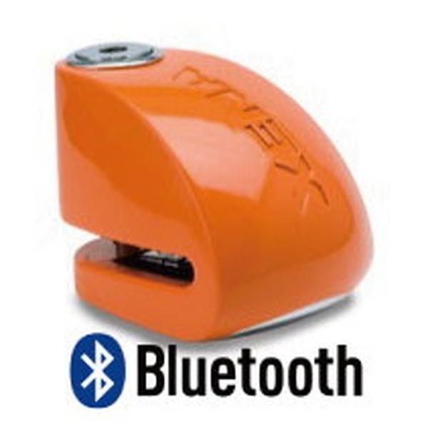 XENA XX6-HD BLE ディスクアラーム(オレンジ) Bluetooth対応 アラーム付きディスクロック 876846004416 Q5K-AAA-001-264