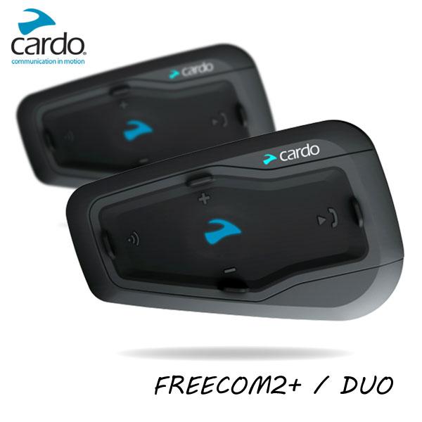 ★送料無料★cardo FREECOM 2+ DUO フリーコム2プラス バイク用インカム