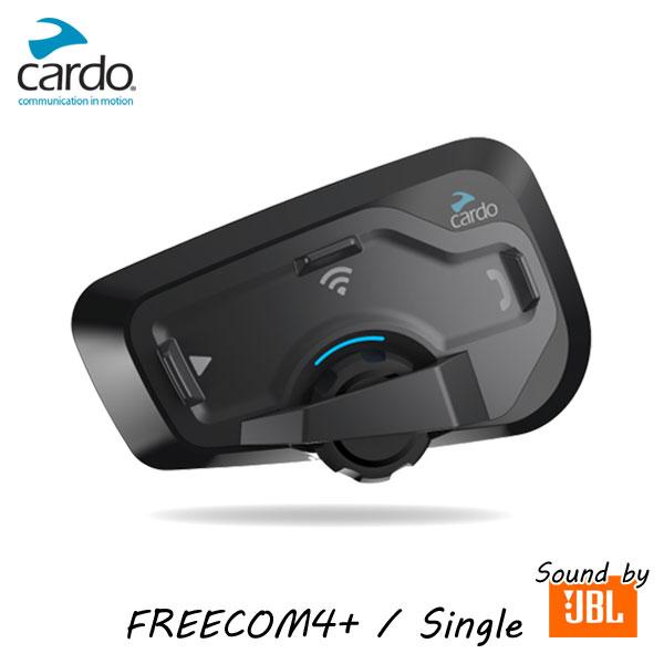 ★送料無料★カルド cardo FREECOM4+ SINGLE JBL フリーコム4プラス バイク用インカム