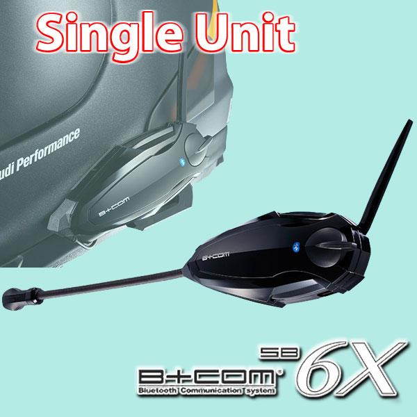 ★送料無料★B+COM SB6X シングルユニット B+COM 6X サインハウス ビーコム 新技術「B+LINK」機能搭載 グループトークが超簡単!