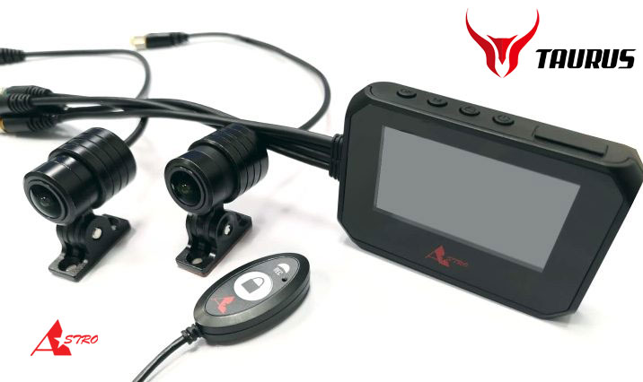 ★送料無料★コルハート バイク用ドライブレコーダー 2カメラ ASTRO TAURUS(アストロ トーラス) 900200