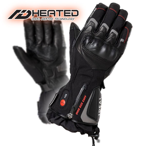 ★送料無料★YAMASHIRO/ヤマシロ《IDEAL/ID-106/BLACK》Heat Glove/ヒートグローブ マイクロカーボンファイバーの発熱システムにより