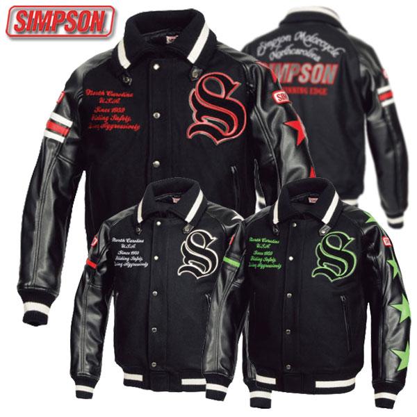 ★送料無料★SIMPSON/シンプソン SJ-7138 スタジアムジャンパー
