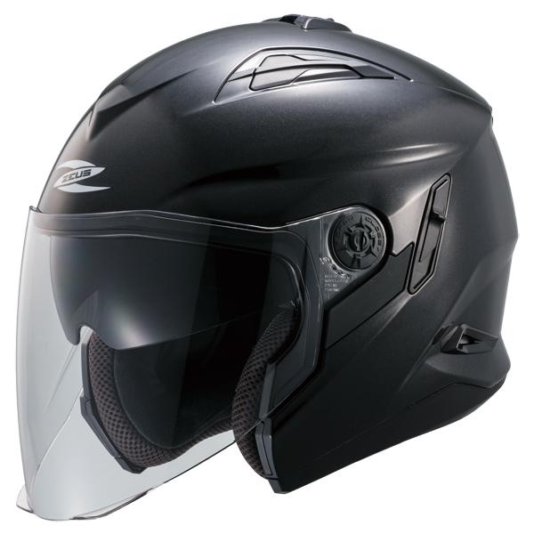 ZEUS NAZ-221 ジェットヘルメット(パールブラック)
