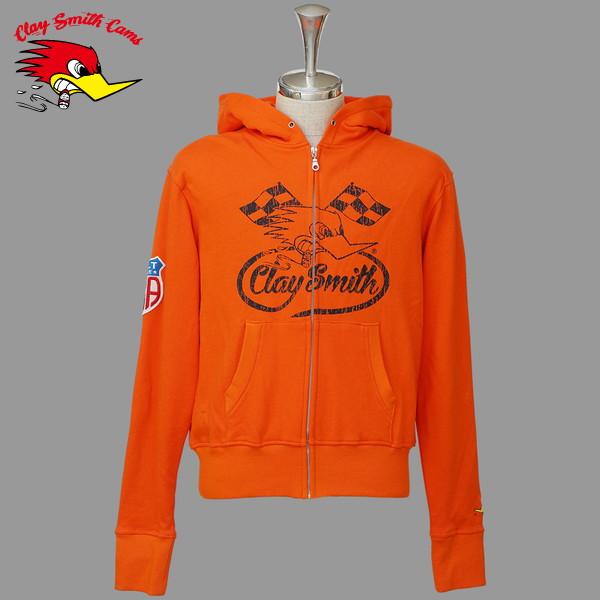 CLAY SMITH CSY-7195 HOLDEN パーカースタイルジャケット(ORANGE)