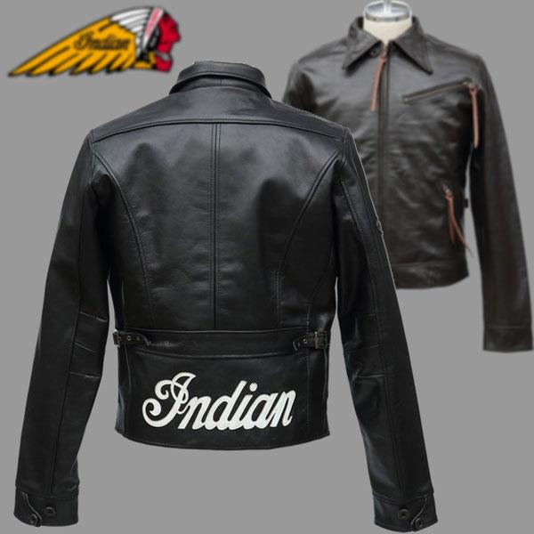 ★送料無料★INDIAN レザージャケット WOODWARD インディアン OIM-6140