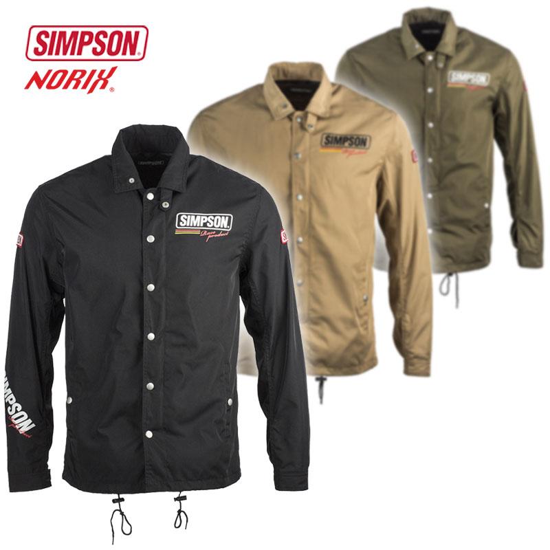★送料無料★SIMPSON/シンプソン【NSM-8】ナイロンジャケット Nylon Jacket NORIX/ノリックス