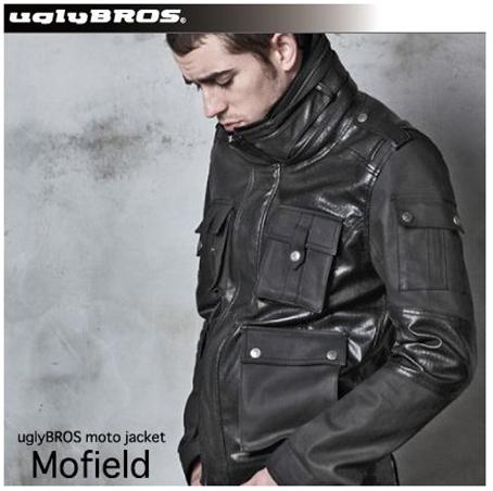 ★送料無料★ uglyBROS UB2002 MOTOJACKET MOFIELD アグリーブロス モトジャケット メンズ ライディングジャケット
